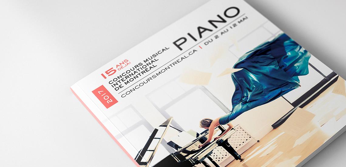 Couverture du programme officiel de l'édition Piano 2017 du CMIM