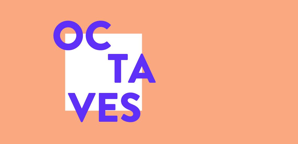 Logo Octave, événement-bénéfice organisé par la Fondation JM Canada